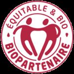 logo biopartenaire commerce équitable