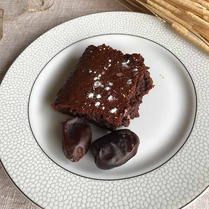 brownie sans sucre dattes