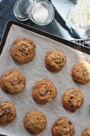 cookies vegan figues sèches et sésame