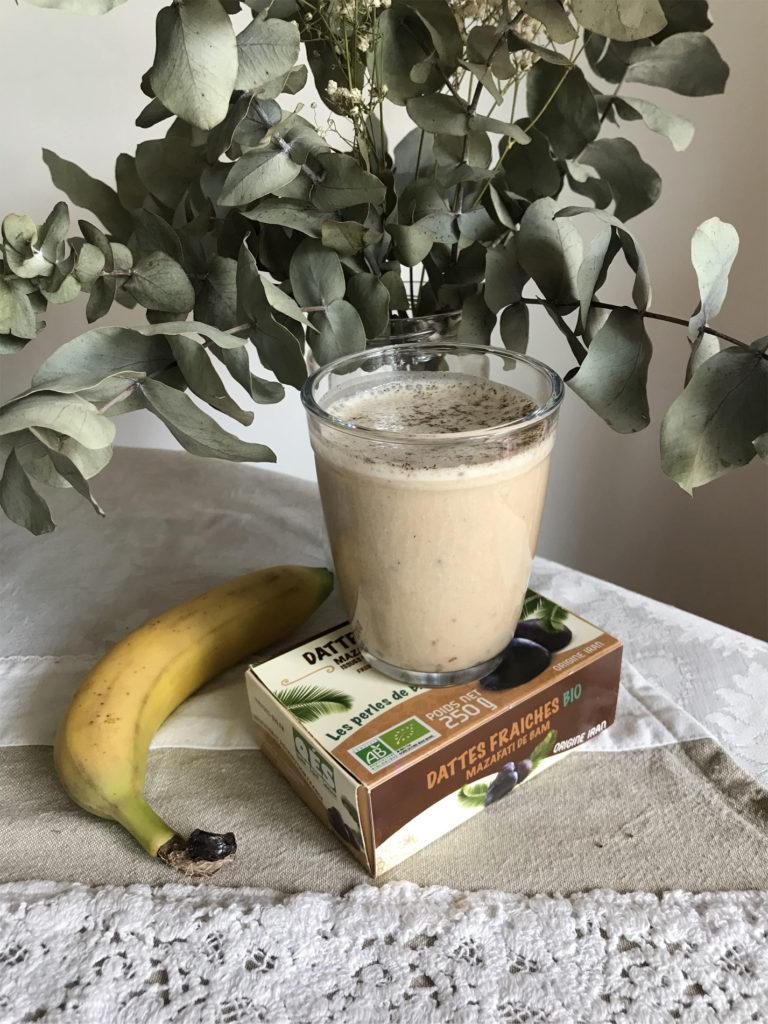 smoothie dattes banane