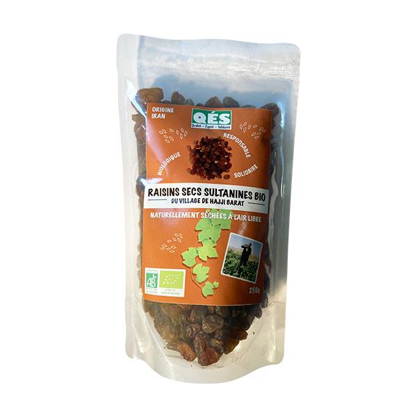 raisins secs bio sachet 250g